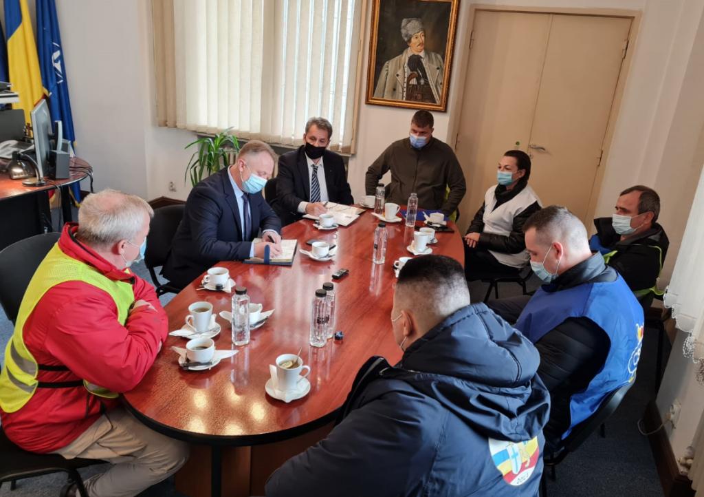 Președintele Decus alături de ceilalți lideri sindicali au fost chemați la discuții în biroul Secretarului de Stat Păduraru
