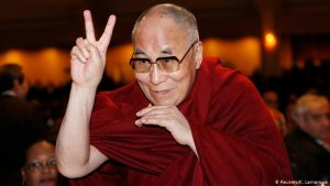 Călugărul tibetan Dalai Lama